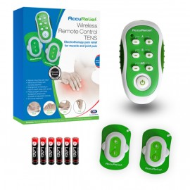 AccuRelief™ Wireless Remote Control TENS Pain Relief System