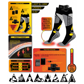 ACTIONHEAT BATTERY HEATED SOCKS