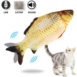 Amakunft Electric Fish Cat Toy