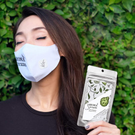 Aroma Stickers - Natural Essential Oil Scented Mask Stickers