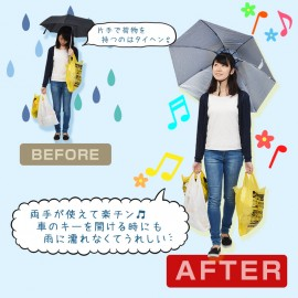 Atamanburera - Hands free umbrella