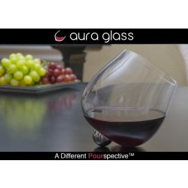 Aura Glass - Unique Rotating Wine Glass
