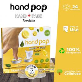 Barberupp Hand Pop Hand Wipes