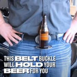 Bev Buckle - hands free belt
