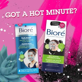 Biore Instant Warming Clay Mask