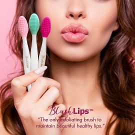 BlushLips Silicone Exfoliating Soft Lip Brush