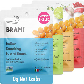 BRAMI Simply Pickled Lupini Beans