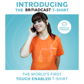 Broadcast – Touch Enabled T-shirt