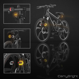 CarryBright Bike Turn Signal Front and Rear Lights