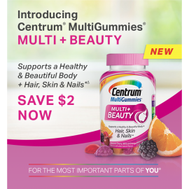 Centrum MultiGummies Multi + Beauty