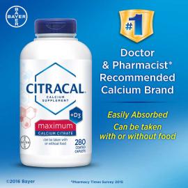 Citracal Maximum Calcium Citrate + D3
