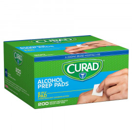 Curad Alcohol Prep Pads - Thick Alcohol Swabs