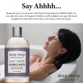 Deep Steep Bubble Bath