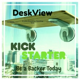 Deskview - Window Mounted Standing Desk