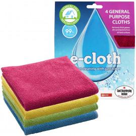 E-Cloth - General Purpose Cloths removes bacteria