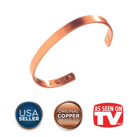 Earth Therapy - Original Pure Copper Magnetic Bracelet