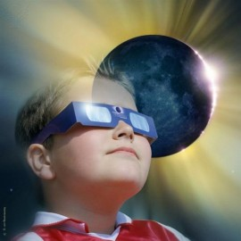 Eclipse Safe Viewing Glasses