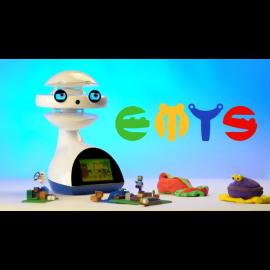 EMYS - language instruction robot for kids