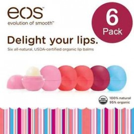 EOS - Evolution of Smooth Lip Balm - 6 pack