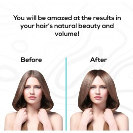 Flex the Eco Hairbrush - perfectly cleansed hair