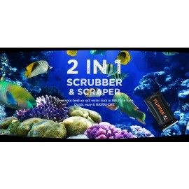 Flipper aquarium cleaner