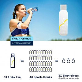 Flyby Fuel Electrolytes