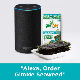 gimMe Organic Roasted Seaweed Snacks