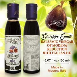 Giuseppe Giusti Italian Fig Balsamic Glaze Vinegar