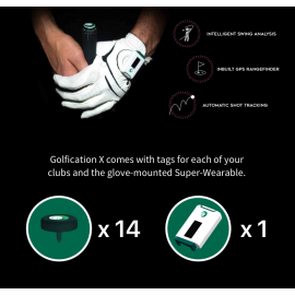 Golfication X - AI Powered Golf Super Wearable