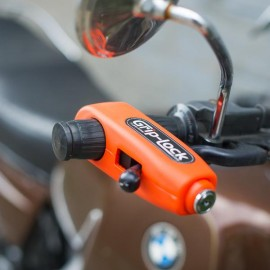 Grip-lock Motorcycle Security Lock
