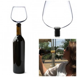 Guzzle Buddy Wine Bottle Glass