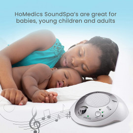 HoMedics White Noise Sleep Therapy SoundSpa