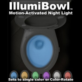IllumiBowl Clip-On Toilet Night Light