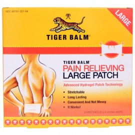 Image result for TIGER BALM PAIN RELIEVING PATCH