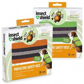 Insect Shield Safety Vests