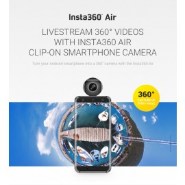 Insta360 Air - 360 VR Clip On Camera for Smartphone
