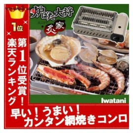 Iwatani cassette Gas grill