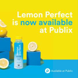 Lemon Perfect Organic Cold-Pressed Lemon Water