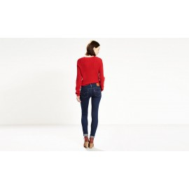 LEVI'S 711 STRETCH SELVEDGE SKINNY JEANS