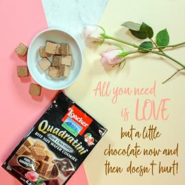 Loacker Quadratini Premium Wafer Cookies