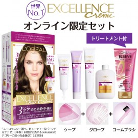 Loreal Paris Excellence Hair color set