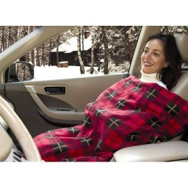 MAXSA Innovations Comfy Heated Travel Blanket