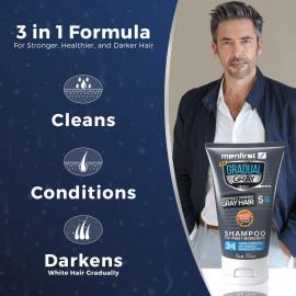 MenFirst Gradual Gray 3-in-1 Shampoo