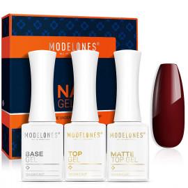 Modelones Matte Gel Top Coat No Wipe Gel