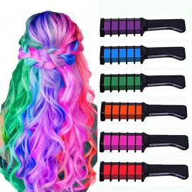 MSDADA Hair Chalk Comb Temporary Hair Dye