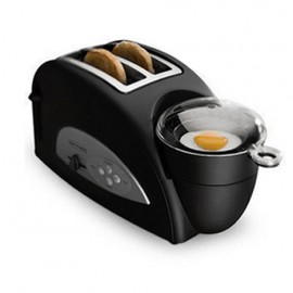 Multifunctional breakfast toaster