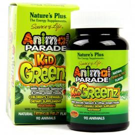 NaturesPlus Animal Parade Source of Life KidGreenz