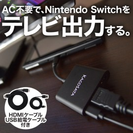 Nintendo Switch HDMI conversion adapter