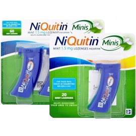 NiQuitin Minis Mint Lozenges