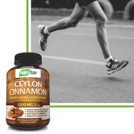 NutriFlair Ceylon Cinnamon Healthy Blood Sugar Support